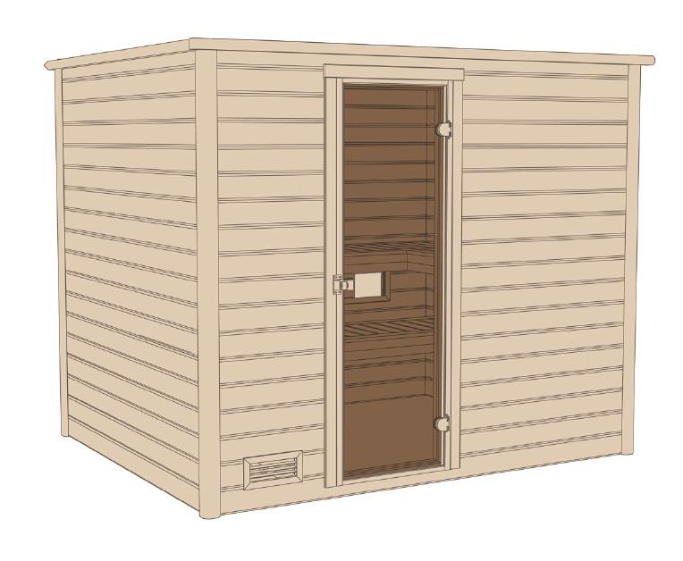 mh sauna 531 isolierte holzt r gr 4 heimsauna. Black Bedroom Furniture Sets. Home Design Ideas