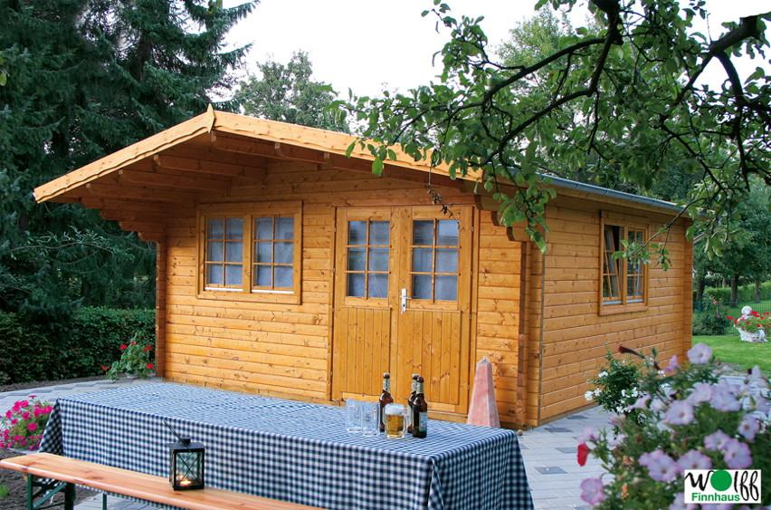 gartenhaus wolff nordkap 70 holz gartenhaus doppelfenster doppelt r vom garten fachh ndler. Black Bedroom Furniture Sets. Home Design Ideas