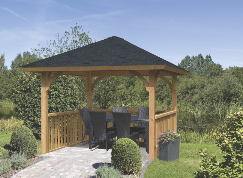 BERGEN  OSLO DOUGLASIE»  Holzpavillon Gartenpavillon  Holz Angebot