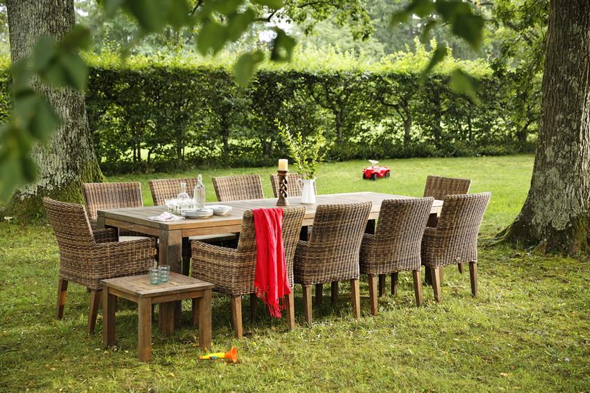 Gartensitzgruppe DIAMOND GARDEN «RivieraChateau» RattanGeflecht  => Gartenmobel Set Riviera