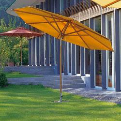 sonnenschirm fischer woodline schirm 350 cm 8 tlg rund mit knick fischer gartenm bel. Black Bedroom Furniture Sets. Home Design Ideas