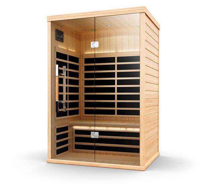 infrarotkabine helo sun s pure infra cottage w rmekabine. Black Bedroom Furniture Sets. Home Design Ideas