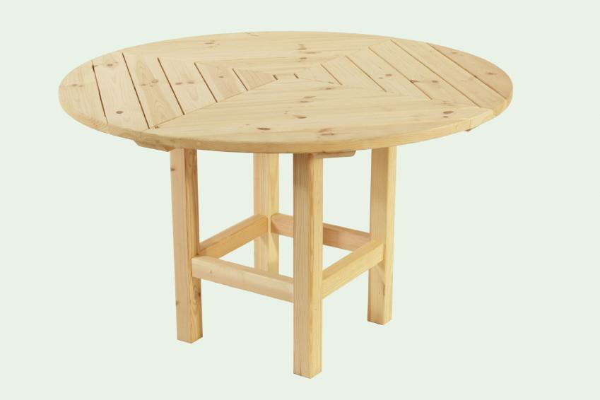 wolff runder tisch f r pavillon kreta 6 vom garten. Black Bedroom Furniture Sets. Home Design Ideas