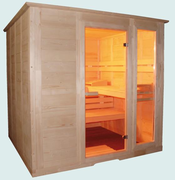 frivole sauna sandy de luxe