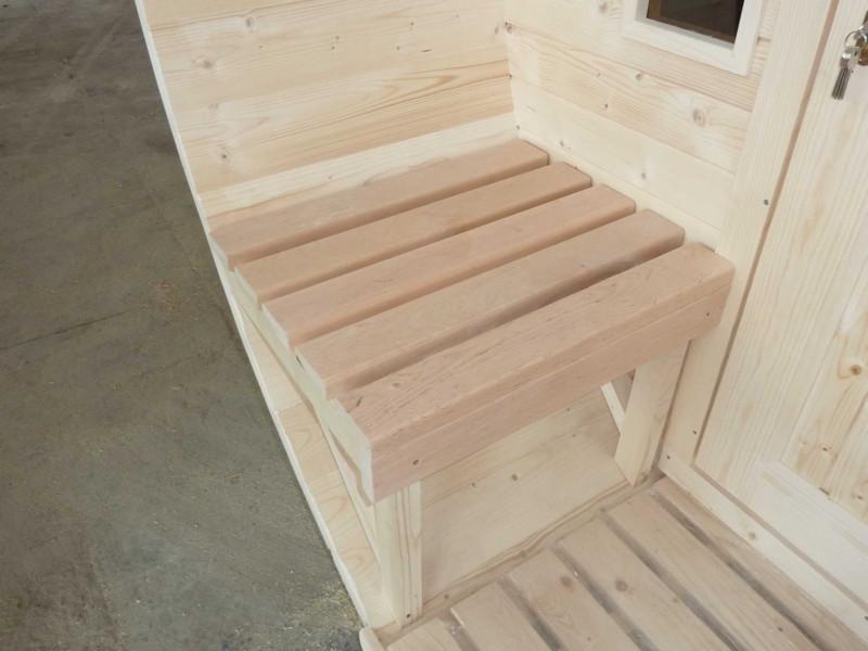 aussensauna saunafass wolff 220 saunahaus gartensauna rundsauna ebay. Black Bedroom Furniture Sets. Home Design Ideas