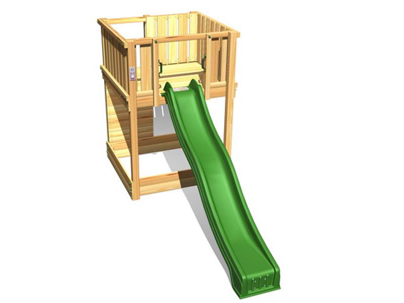 spielturm hy land q serie kletterturm mit rutsche din en. Black Bedroom Furniture Sets. Home Design Ideas