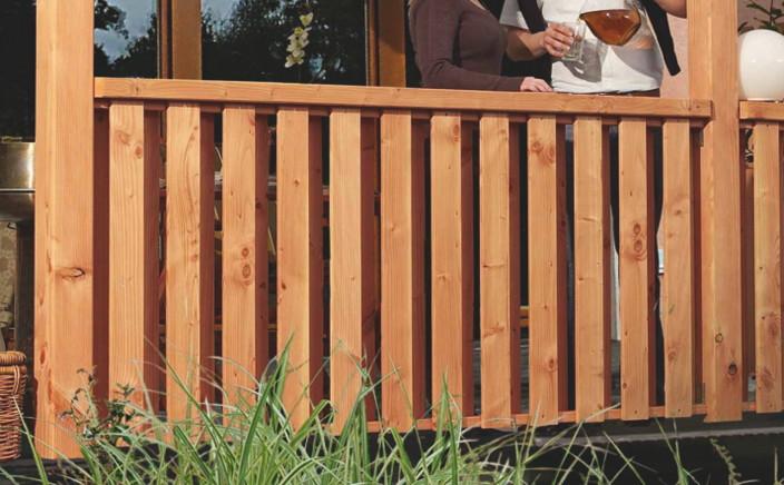 TerrassenUberdachung Holz Douglasie ~   für Terrassenüberdachung Douglasie 3  Holz Angebot