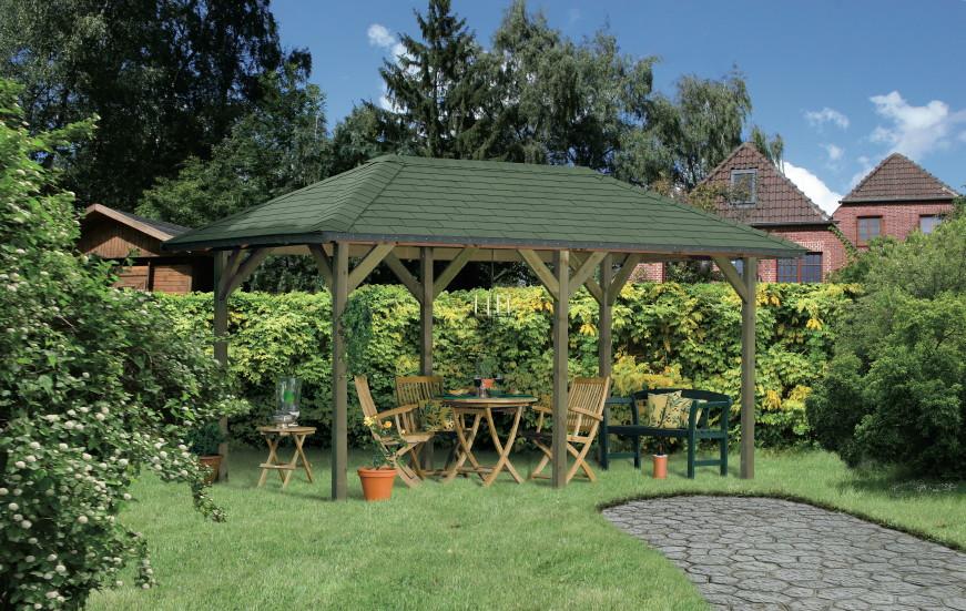 Gartenpavillon Holz Selbstbau – Bvrao.com