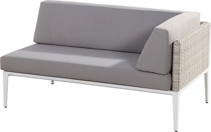 Gartenmobel Eckbank Metall : PolyrattanSofa 4Seasons «Riviera 1 Lehne» LuxusPremium