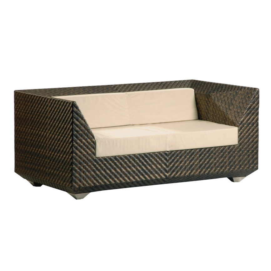 gartenbank alexander rose ocean maledives 2er sofa geflecht korbsofa gartenm bel fachhandel. Black Bedroom Furniture Sets. Home Design Ideas