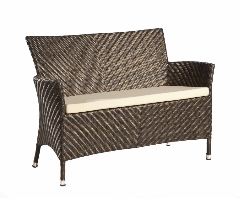 gartenbank alexander rose ocean wave 2er sofa rattan. Black Bedroom Furniture Sets. Home Design Ideas