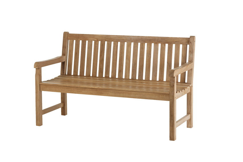 GARDEN «Cornwall» Holzbank Teak Holz  Gartenmöbel Fachhandel