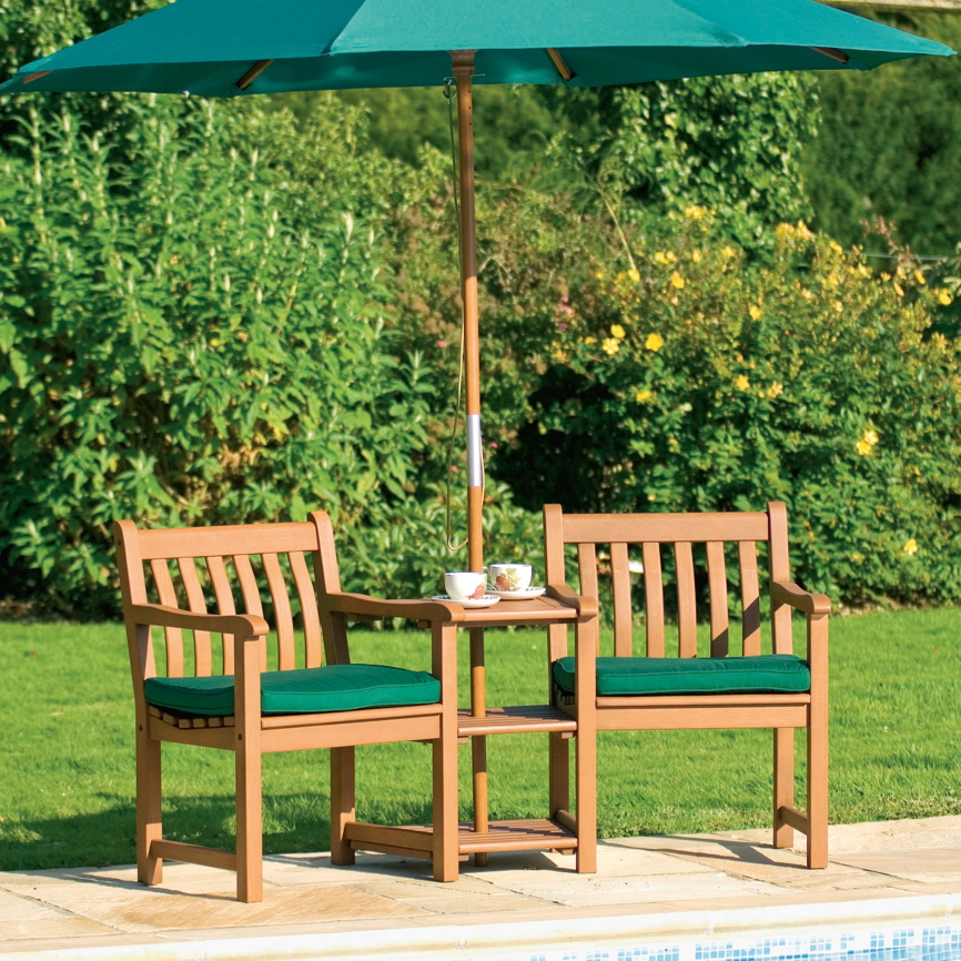 gartenstuhl alexander rose cornis companion 2er bank mit. Black Bedroom Furniture Sets. Home Design Ideas