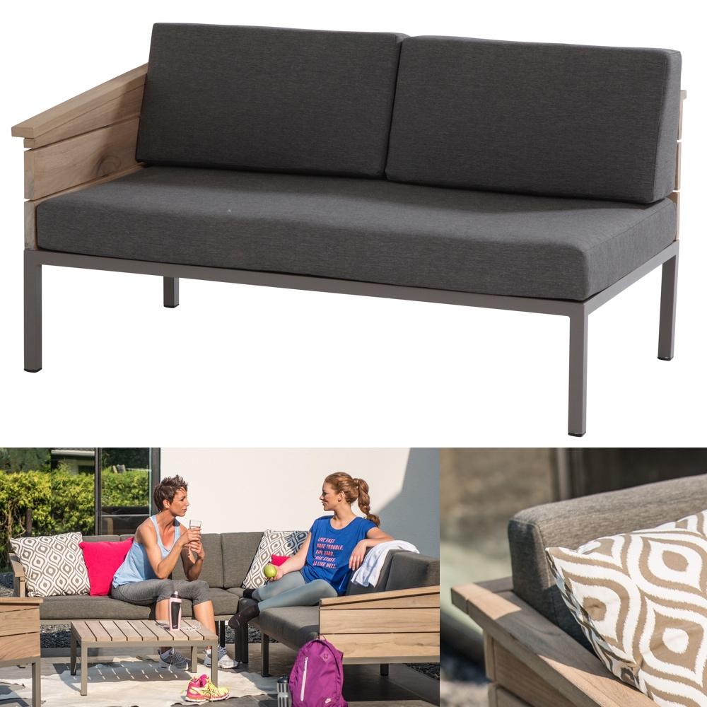 lounge 4seasons cava 2er bank endmodul armlehne rechts. Black Bedroom Furniture Sets. Home Design Ideas