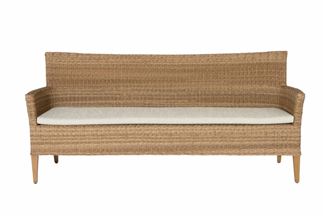 auflage gartenstuhl mbm madrigal sitzkissen f r 3 er bank gartenm bel fachhandel. Black Bedroom Furniture Sets. Home Design Ideas