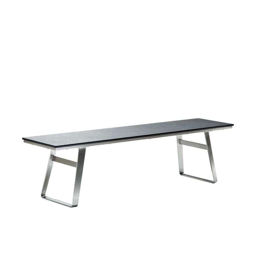 sitzgruppe niehoff ninon 180cm gartenm ebel set 3 beton. Black Bedroom Furniture Sets. Home Design Ideas