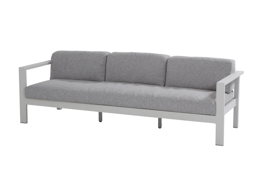 gartenbank 4seasons galaxy 3er sofa aluminium. Black Bedroom Furniture Sets. Home Design Ideas