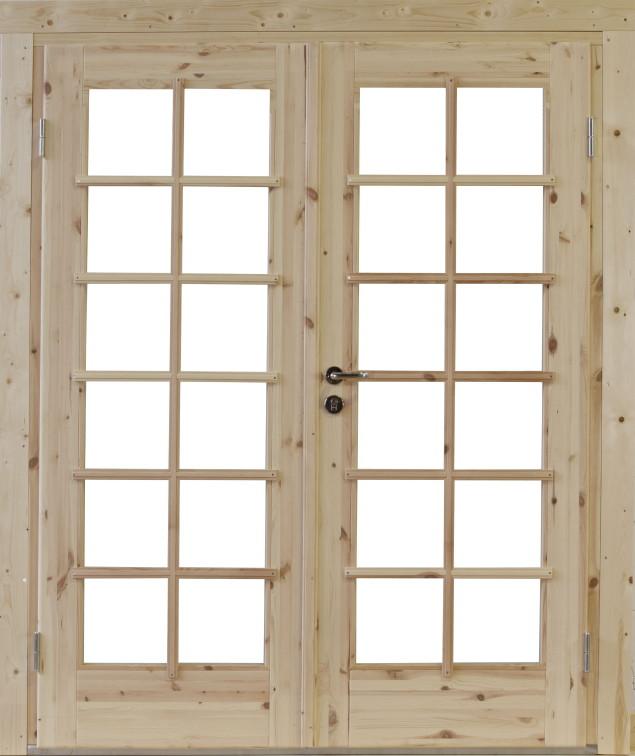 Eingangstüren holz glas  Einbau-Holz-Tür WOLFF «Doppeltür Lars» für 28, 34, 44, 58, 70 mm ...