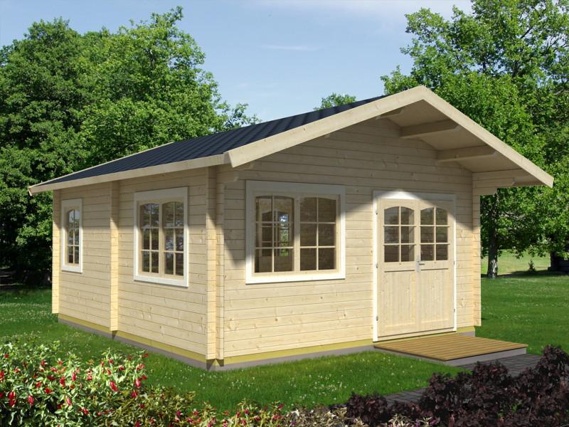 gartenhaus palmako emil wochenendhaus ferienhaus vom garten fachh ndler. Black Bedroom Furniture Sets. Home Design Ideas