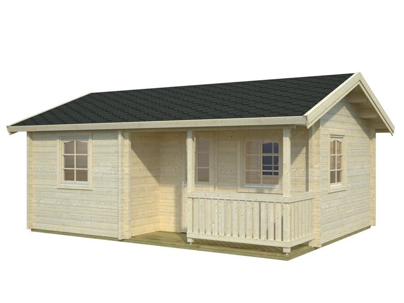 gartenhaus palmako fabian ferienhaus gartenhaus aus holz g nstig kaufen im shop von holz. Black Bedroom Furniture Sets. Home Design Ideas