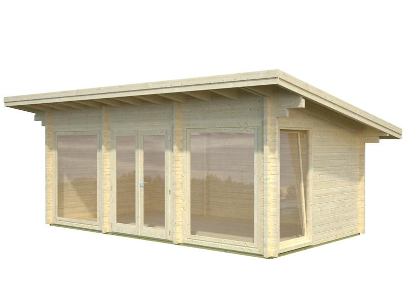 gartenhaus palmako tobias ferienhaus gartenhaus aus. Black Bedroom Furniture Sets. Home Design Ideas