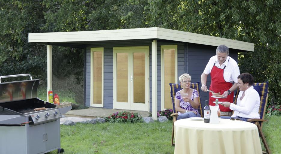 gartenhaus mit pultdach cool karibu woodfeeling pultdach bastrup mm mit m schleppdach inkl with. Black Bedroom Furniture Sets. Home Design Ideas
