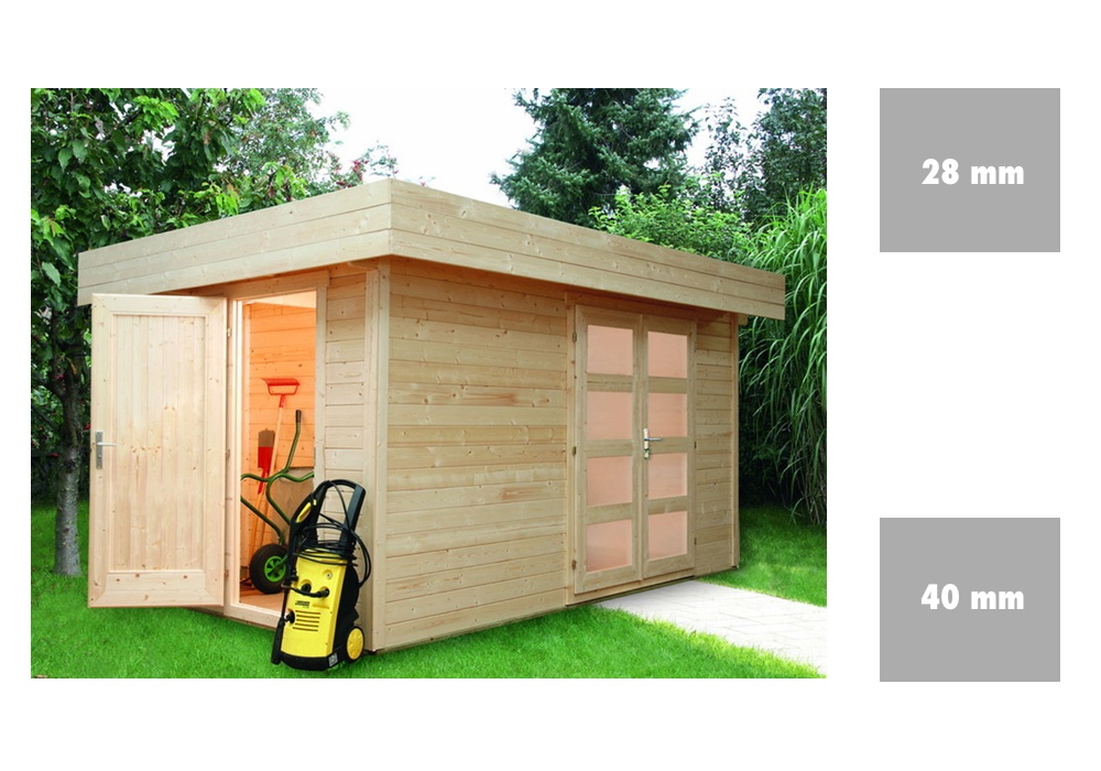 gartenhaus selber bauen schnell und einfach zum haus im. Black Bedroom Furniture Sets. Home Design Ideas
