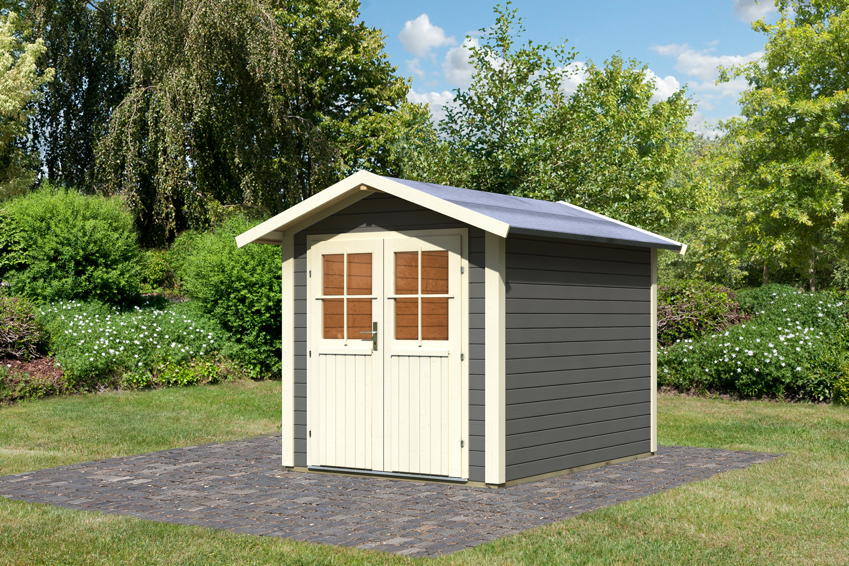 Gartenhaus Holz Konfigurator ~ Gartenhaus KARIBU «Musholm» Holz Haus Bausatz  Gartenhaus aus Holz