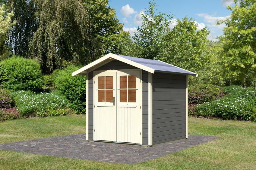 Gartenhaus KARIBU Lillesund | Sm�land Holz Haus Bausatz