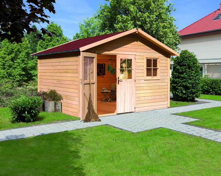 Gartenhaus KARIBU Oldeborg Gartenhaus Holzhaus BAUSATZ