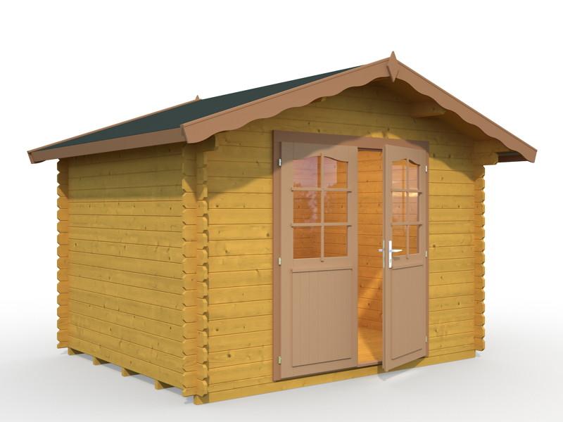 gartenhaus palmako magnus ger tehaus gartenhaus aus holz g nstig kaufen im shop von holz. Black Bedroom Furniture Sets. Home Design Ideas