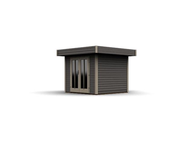 gartenhaus flachdach karibu multi cube 1. Black Bedroom Furniture Sets. Home Design Ideas