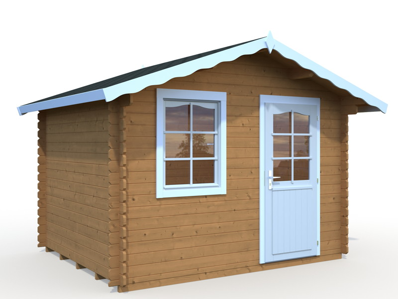 gartenhaus palmako robin ger tehaus gartenhaus aus. Black Bedroom Furniture Sets. Home Design Ideas