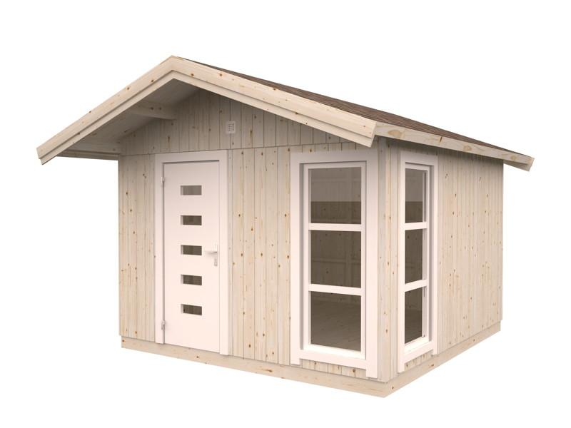 ger tehaus palmako fritz gartenhaus aus holz g nstig. Black Bedroom Furniture Sets. Home Design Ideas