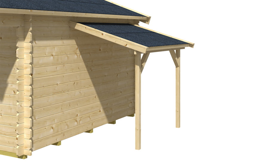 Gartenhaus Holz Mit Schleppdach ~ Schleppdach SKANHOLZ «Anbau für Gartenhaus»  Holz Angebot