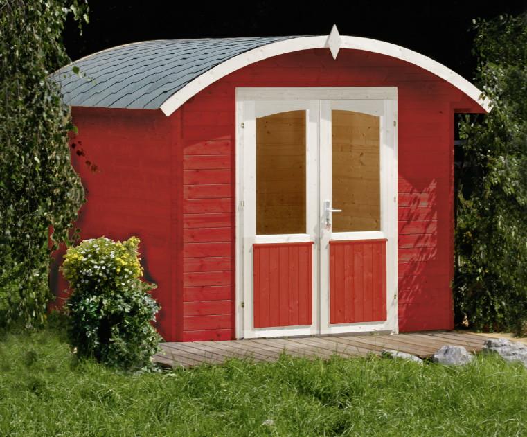 gartenhaus wolff norderney 28 28 mm holzhaus runddach mit doppelt r gartenhaus aus holz. Black Bedroom Furniture Sets. Home Design Ideas