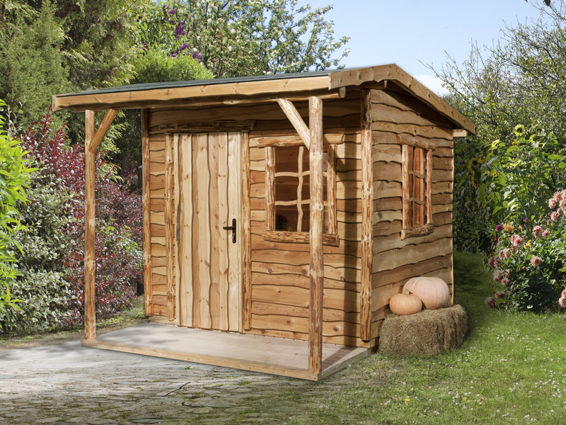 Gerätehaus WEKA «Nature 2» Gartenhaus Holz-Haus-Bausatz ...