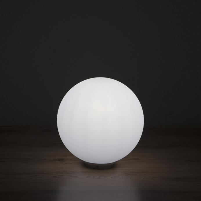 gartenlampe aussenlampe snowball feststehend runde. Black Bedroom Furniture Sets. Home Design Ideas