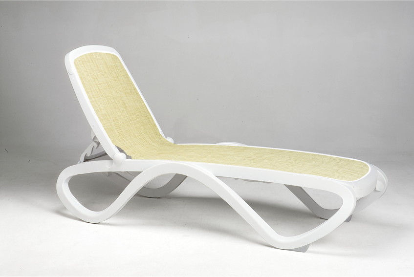gartenliege nardi omega weiss beige poolliege. Black Bedroom Furniture Sets. Home Design Ideas