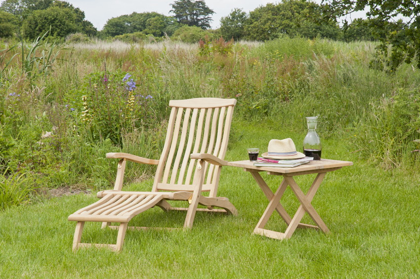 liegestuhl alexander rose roble deckchair holz relaxstuhl kaufen holz garten online. Black Bedroom Furniture Sets. Home Design Ideas