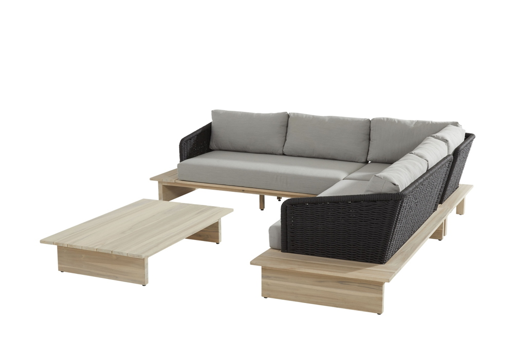 Sitzgruppe Gartenlounge 4Seasons Altea Lounge mit Kissen