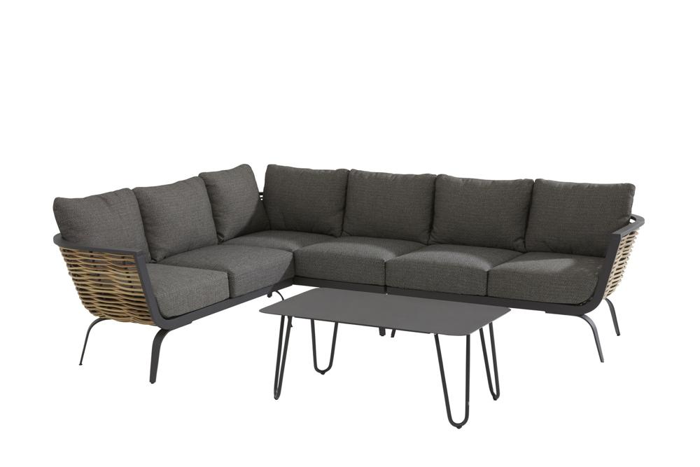 Sitzgruppe 4Seasons Antibes Set 2 Loungegruppe Gartenmöbelset