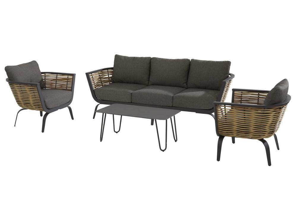 Sitzgruppe 4Seasons Antibes Set 1 Loungegruppe Gartenmöbelset