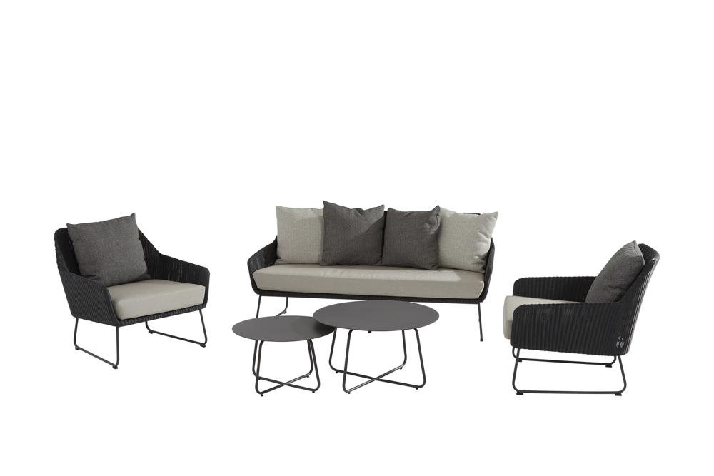Gartenmöbelset 4Seasons Avila Sitzgruppe Loungegruppe Set 1