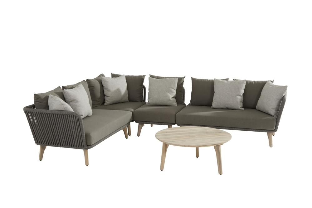 Gartensitzgruppe 4seasons Santander Loungegruppe Gartenmöebel Set