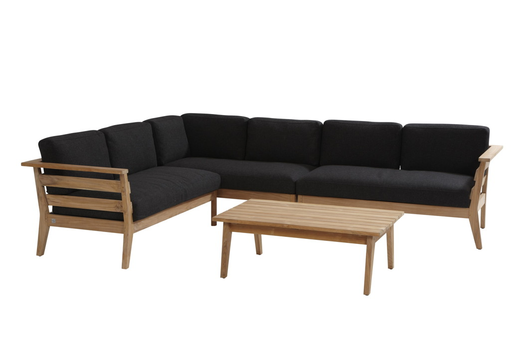 sitzgruppe 4seasons polo loungegruppe teakholzgartenm bel set 1 gartenm bel fachhandel. Black Bedroom Furniture Sets. Home Design Ideas
