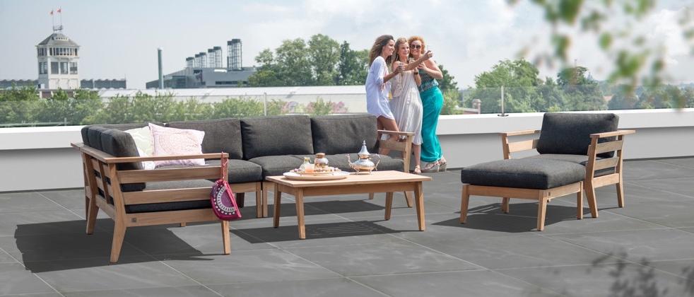 4 seasons gartenm bel serie polo. Black Bedroom Furniture Sets. Home Design Ideas