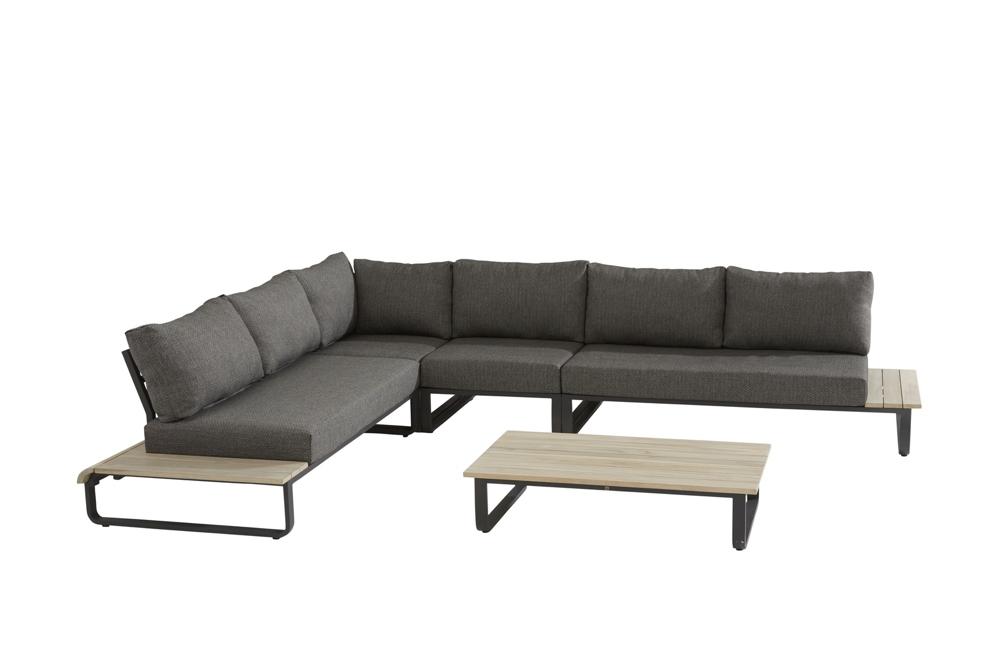 Sitzgruppe 4Seasons Delta Loungegruppe Gartenmöbel Set 1