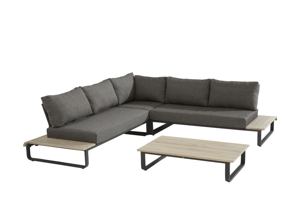 Sitzgruppe 4Seasons Delta Loungegruppe Gartenmöbel Set 2