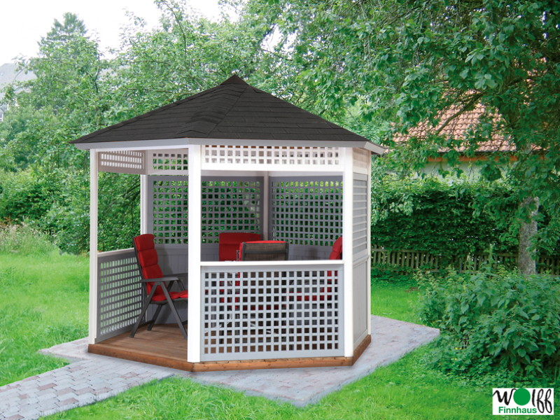 gartenpavillon garten holz haus. Black Bedroom Furniture Sets. Home Design Ideas